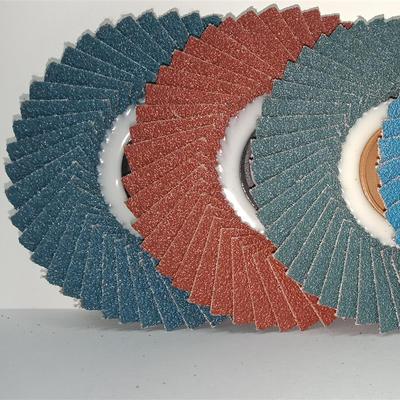 150 Diameter Flap Disc With Fiber Cover #60 Grit 96 Pieces